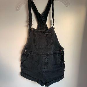Brandy Melville black overalls